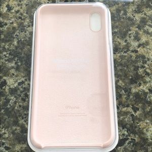 NWT pink iPhone XS Max silicone case cover